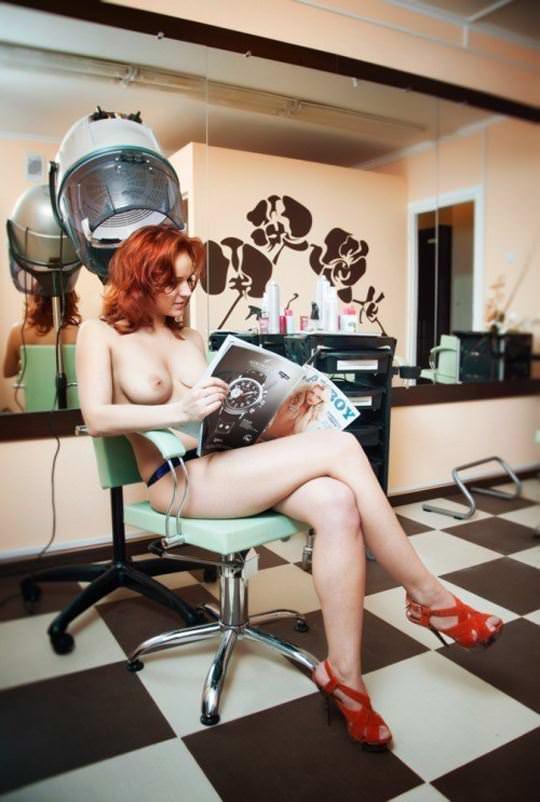 【外人】綺麗な赤毛を身に纏った美乳おっぱいヌードのポルノ画像 1263