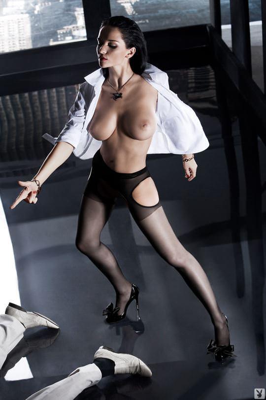 【外人】プレイボーイ誌に掲載されたウクライナ人ユージニア(Eugenia Diordiychuk)の美爆乳おっぱいヌードのポルノ画像 1269