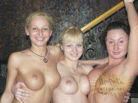 【外人】大衆浴場で素っ裸になっておふざけ女子会するロシア人素人のポルノ画像