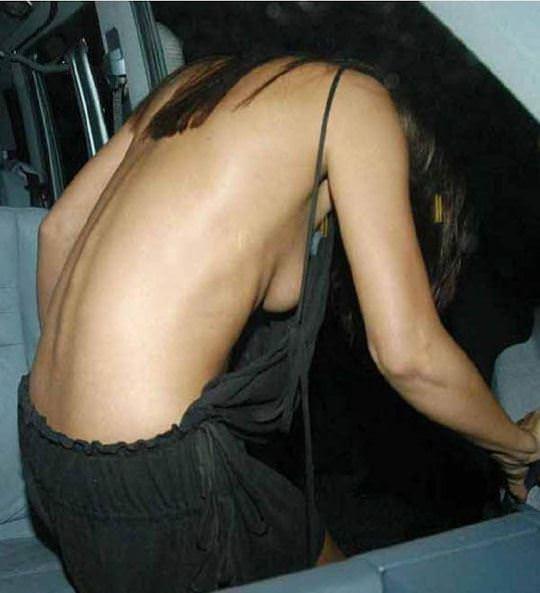 【外人】アメリカ人女優リンジー・ローハン(Lindsay Lohan)の豊胸おっぱいの横乳がめちゃエロいポルノ画像 1316