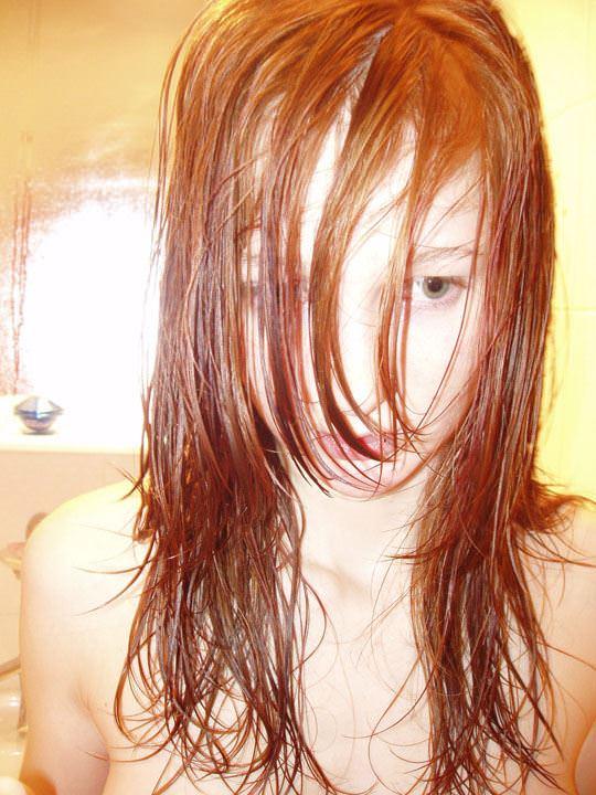 【外人】彼氏が同棲中の赤毛の彼女の裸を撮影しまくりなポルノ画像 1328