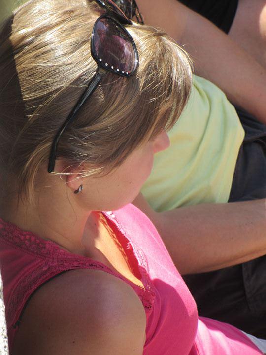 【外人】ローマで街撮りされちゃった女の子たちの着衣エロポルノ画像 144