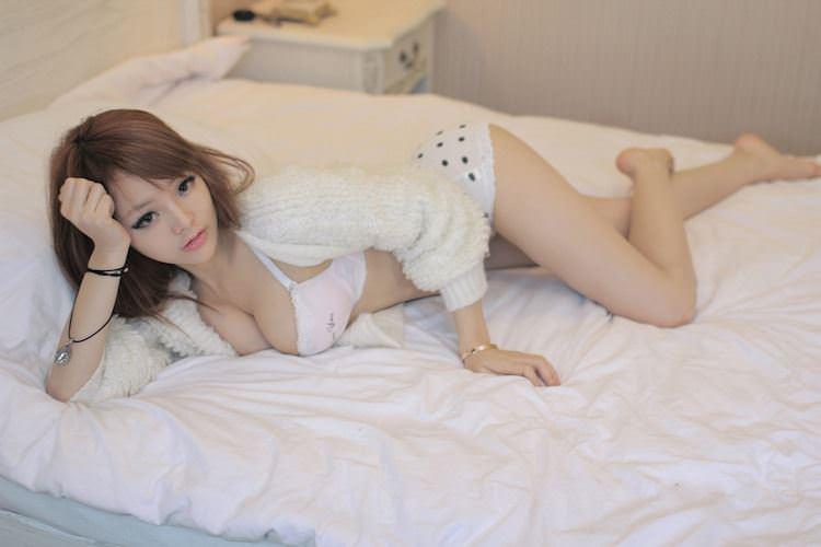 【外人】中国人のセクシーコスプレーヤーのリ・リン(李玲 Li Ling)の手ぶらヌードがめちゃシコなポルノ画像 150