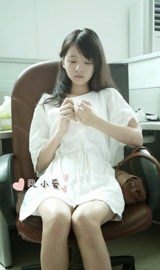 【外人】中国人の超絶美少女ひよこちゃんが童顔ロリ顔過ぎて26歳に見えないポルノ画像 1542