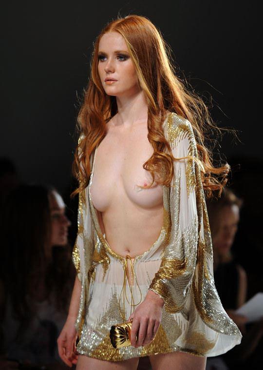 【外人】ドイツ人スーパーモデルのバーバラ・マイヤー(Barbara Meier)の乳首がピンク過ぎるおっぱいポルノ画像 1622