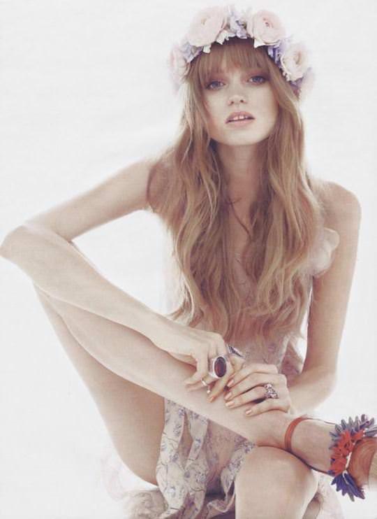 【外人】オーストラリア人モデルのアビー・リー・カーショウ(Abbey Lee Kershaw)が宮崎あおいに激似のおっぱいポルノ画像 2163