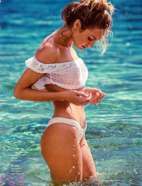 【外人】南アフリカ出身の超人気モデルキャンディス・スワンポール(Candice Swanepoel)のおっぱいヌードポルノ画像 2187