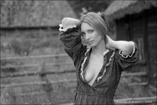 【外人】ウクライナの写真家ルスラン・ロバノーヴ(Ruslan Lobanov)の映画のワンシーンのようなポルノ画像 2344
