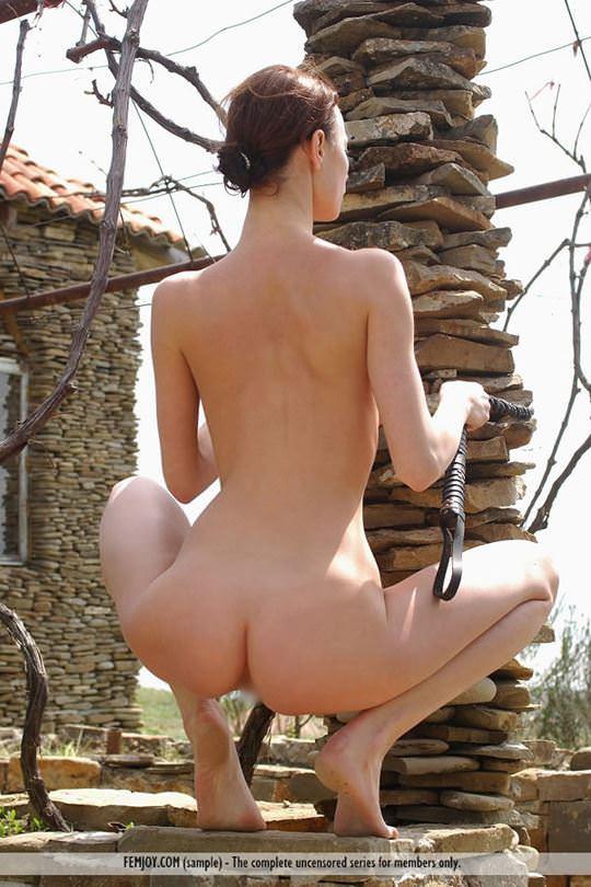 【外人】大自然と見事にマッチしてる巨乳おっぱいモデルのアナスタシア(Anastasia Gurtovaya)の野外露出ポルノ画像 2349