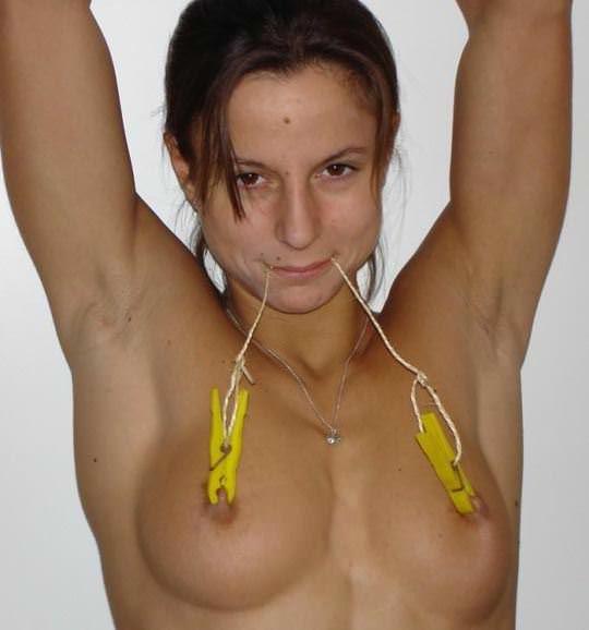 【外人】緊縛・拘束で調教される事に性的興奮を感じる海外美女のソフトSMポルノ画像 2441
