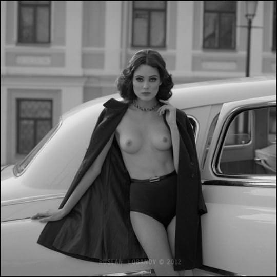 【外人】ウクライナの写真家ルスラン・ロバノーヴ(Ruslan Lobanov)の映画のワンシーンのようなポルノ画像 2633