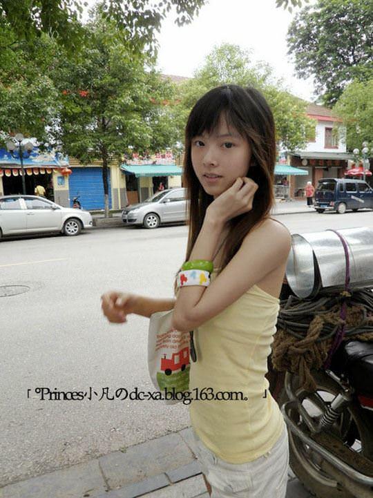 【外人】中国人の超絶美少女ひよこちゃんが童顔ロリ顔過ぎて26歳に見えないポルノ画像 2719
