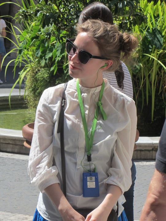【外人】ローマで街撮りされちゃった女の子たちの着衣エロポルノ画像 29