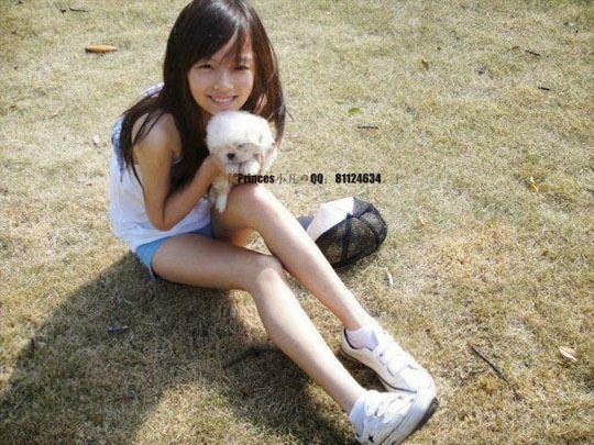 【外人】中国人の超絶美少女ひよこちゃんが童顔ロリ顔過ぎて26歳に見えないポルノ画像 3123