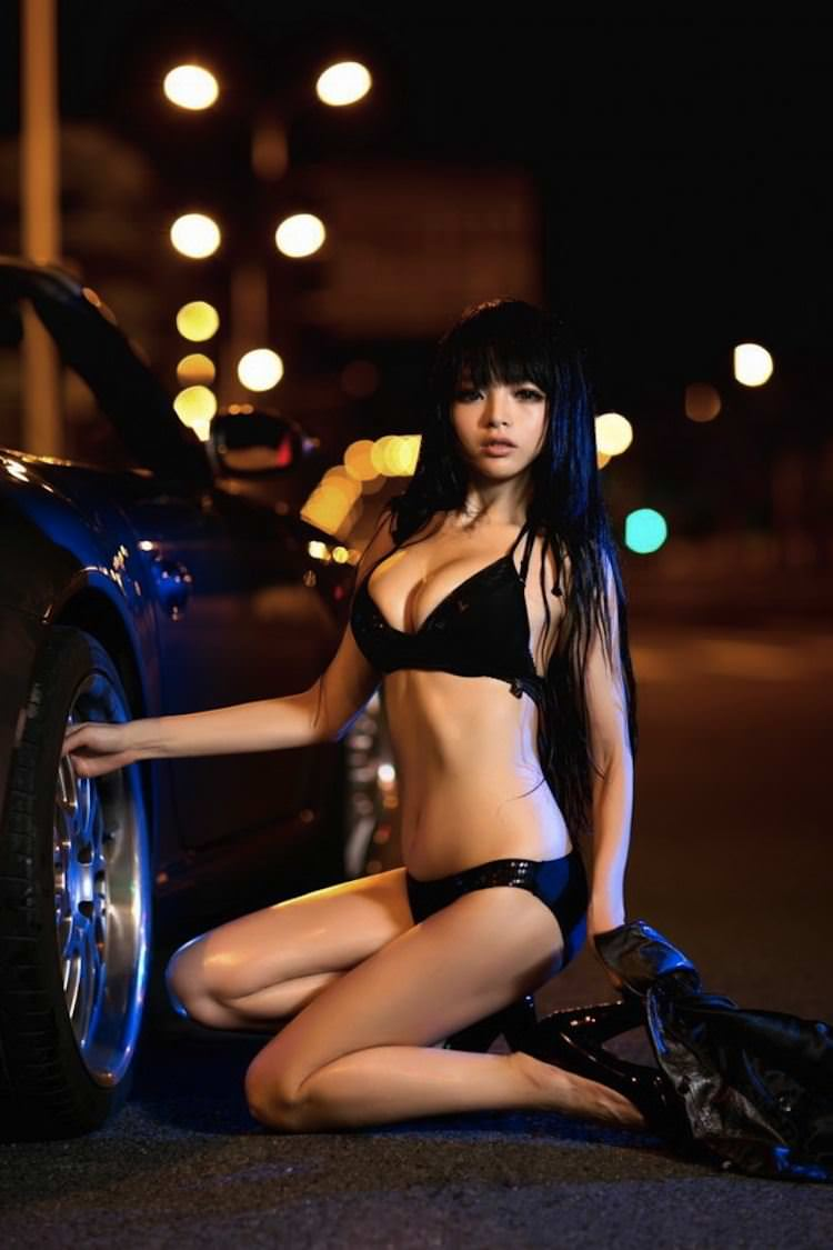 【外人】中国人のセクシーコスプレーヤーのリ・リン(李玲 Li Ling)の手ぶらヌードがめちゃシコなポルノ画像 320