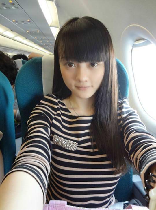 【外人】中国人ブロガーの美少女の旅行中の素人ポルノ画像 3209