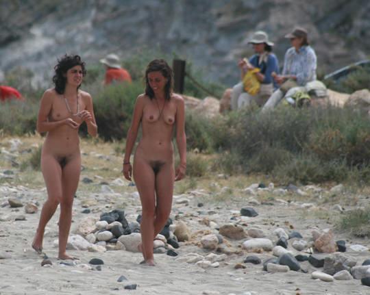 【外人】裸で居ることが大好きなヌーディスト達のアウトドアライフのポルノ画像 3233