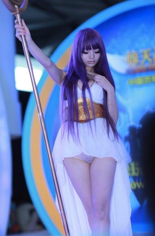 【外人】中国人のセクシーコスプレーヤーのリ・リン(李玲 Li Ling)の手ぶらヌードがめちゃシコなポルノ画像 324