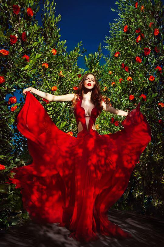 【外人】美しすぎるアメリカンモデルのアリナ·アリナイキーナ(Alina Aliluykina)のダイナマイトおっぱいポルノ画像 332