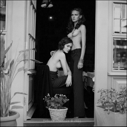 【外人】ウクライナの写真家ルスラン・ロバノーヴ(Ruslan Lobanov)の映画のワンシーンのようなポルノ画像 3327