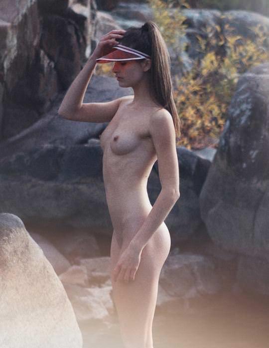 【外人】アリシア・マクゴーガン (Alyssia McGoogan)が河原で野外露出ポルノ画像 346