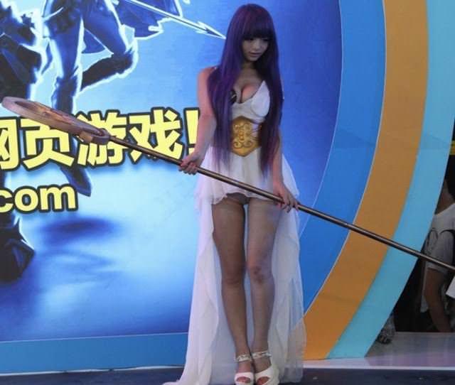 【外人】中国人のセクシーコスプレーヤーのリ・リン(李玲 Li Ling)の手ぶらヌードがめちゃシコなポルノ画像 364