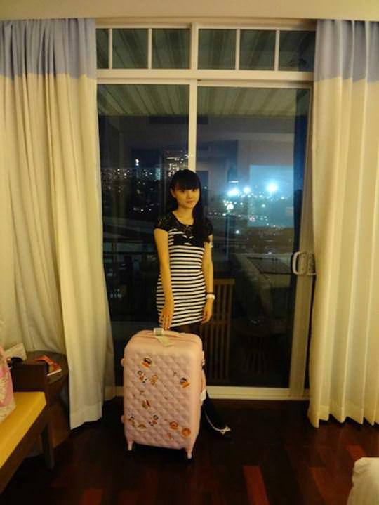【外人】中国人ブロガーの美少女の旅行中の素人ポルノ画像 4168