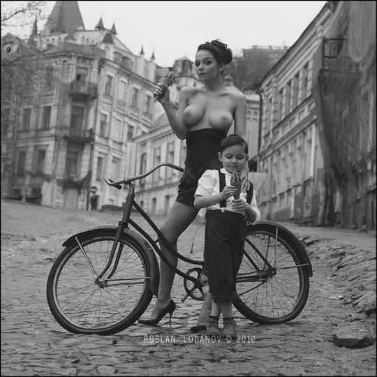 【外人】ウクライナの写真家ルスラン・ロバノーヴ(Ruslan Lobanov)の映画のワンシーンのようなポルノ画像 4712