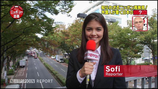 【外人】所さんのニッポンの出番の超絶美女ソフィー・ヘヴァン(sofi bevan)のポルノ画像 486