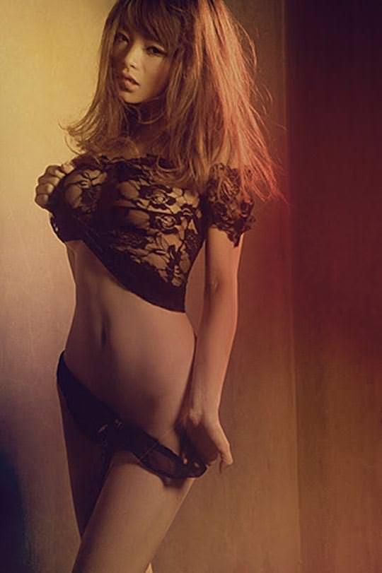 【外人】中国人のセクシーコスプレーヤーのリ・リン(李玲 Li Ling)の手ぶらヌードがめちゃシコなポルノ画像 492