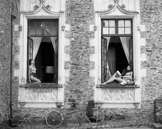 【外人】ウクライナの写真家ルスラン・ロバノーヴ(Ruslan Lobanov)の映画のワンシーンのようなポルノ画像 5116