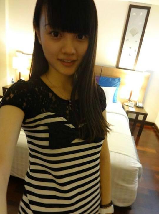 【外人】中国人ブロガーの美少女の旅行中の素人ポルノ画像 5138