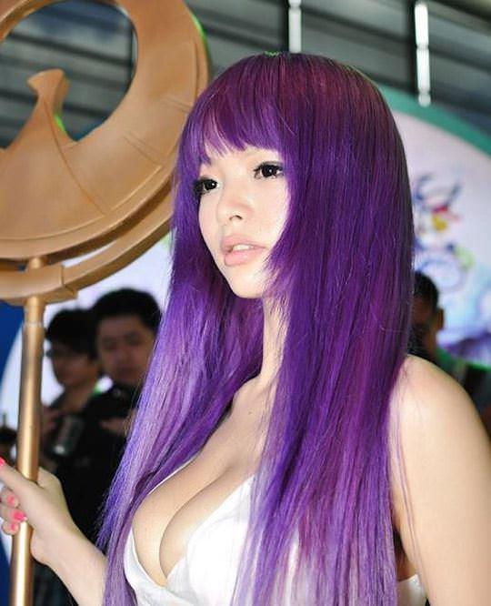 【外人】中国人のセクシーコスプレーヤーのリ・リン(李玲 Li Ling)の手ぶらヌードがめちゃシコなポルノ画像 522