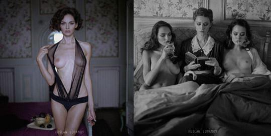 【外人】ウクライナの写真家ルスラン・ロバノーヴ(Ruslan Lobanov)の映画のワンシーンのようなポルノ画像 5311