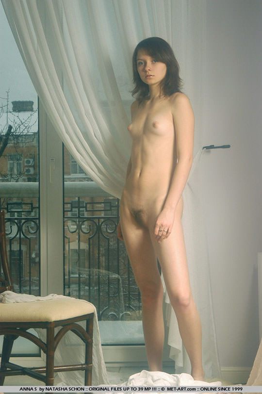 【外人】ロリ顔半端ないアンナ(Anna S)の天使のようなヘアヌードポルノ画像 537