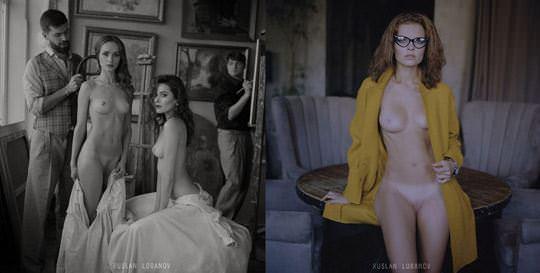 【外人】ウクライナの写真家ルスラン・ロバノーヴ(Ruslan Lobanov)の映画のワンシーンのようなポルノ画像 5411