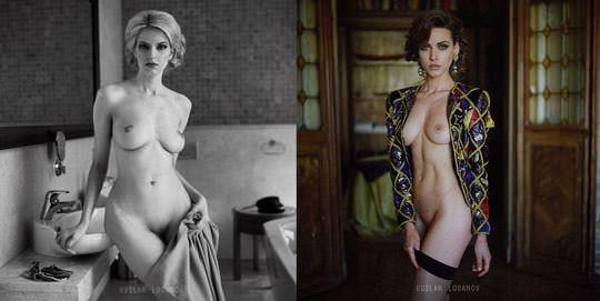 【外人】ウクライナの写真家ルスラン・ロバノーヴ(Ruslan Lobanov)の映画のワンシーンのようなポルノ画像 5611