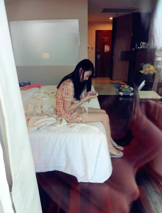 【外人】中国人ブロガーの美少女の旅行中の素人ポルノ画像 6118