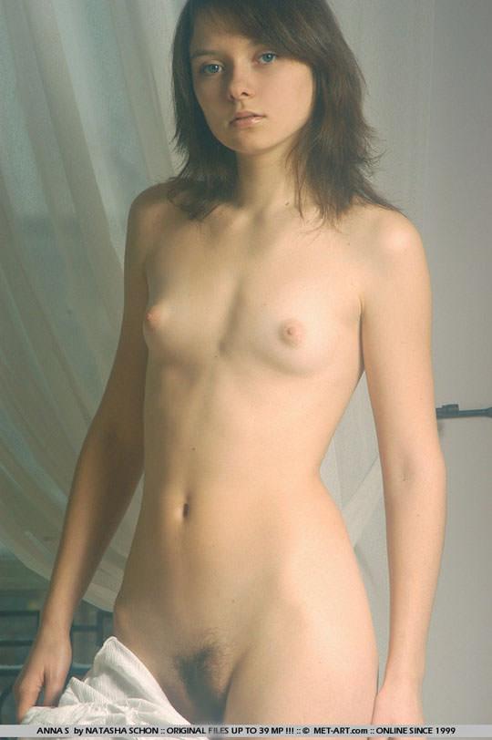 【外人】ロリ顔半端ないアンナ(Anna S)の天使のようなヘアヌードポルノ画像 632