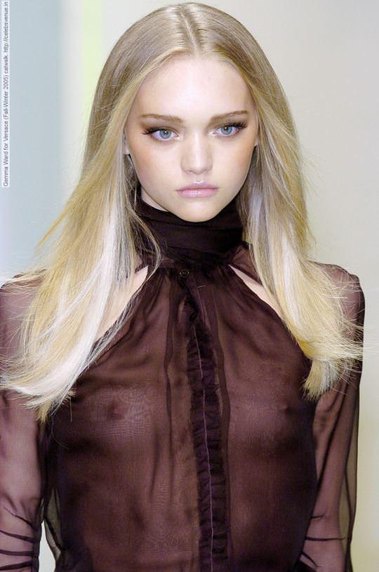 【外人】オーストラリア人モデルのドール顔ジェマ・ワード(Gemma Louise Ward)が貧乳おっぱい乳首チラポルノ画像 669