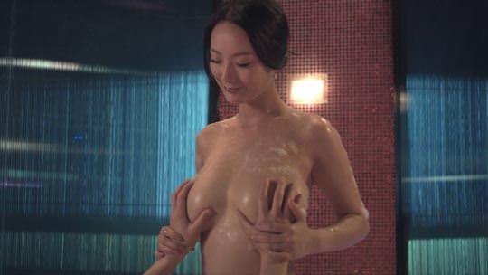 【外人】 モンゴル族出身のワン・リー・ダン(王李丹 Wang Li Dan)の巨乳おっぱいが神レベルのソープポルノ画像 680