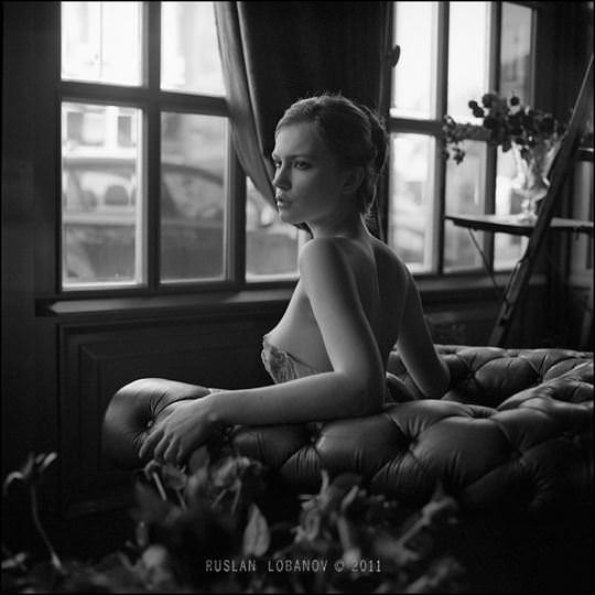 【外人】ウクライナの写真家ルスラン・ロバノーヴ(Ruslan Lobanov)の映画のワンシーンのようなポルノ画像 697