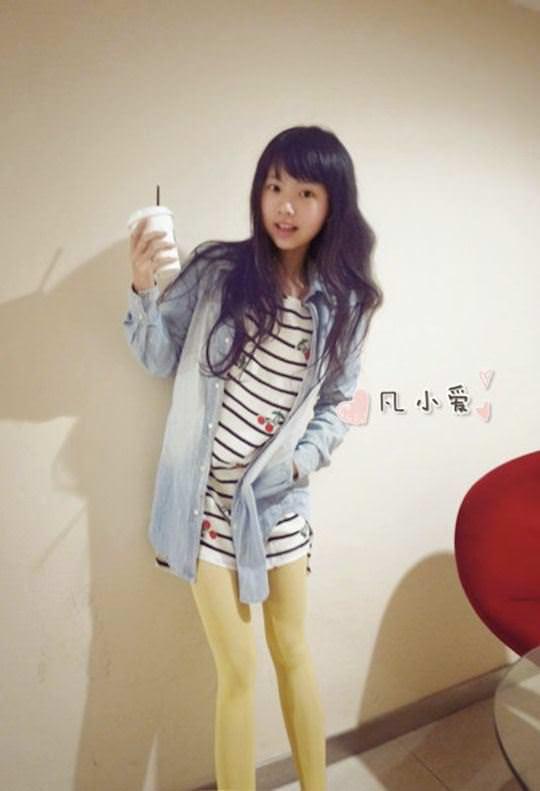 【外人】中国人の超絶美少女ひよこちゃんが童顔ロリ顔過ぎて26歳に見えないポルノ画像 849