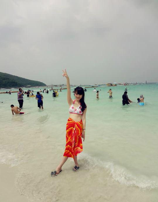 【外人】中国人ブロガーの美少女の旅行中の素人ポルノ画像 9101
