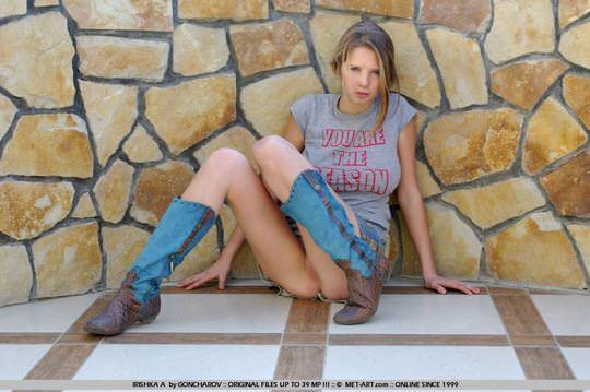 【外人】おまんこパックリくっきり見せてくれるウクライナ美女アイリシュカ(Irishka A)のヌードポルノ画像 969