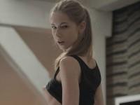 【外人】ロシアのスタイル抜群モデルのアンジェリカ(Angelica)おピンク乳首を晒すポルノ画像