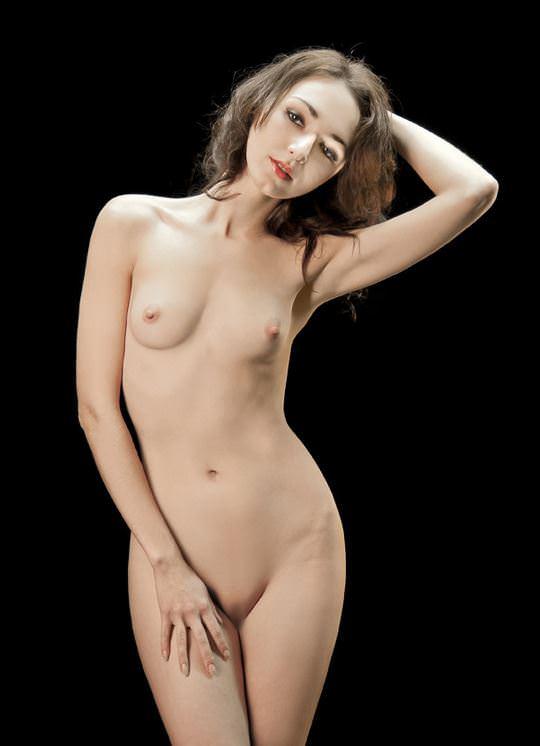 【外人】無名でもクッソ可愛いモデルがヌード晒してるポルノ画像 1073