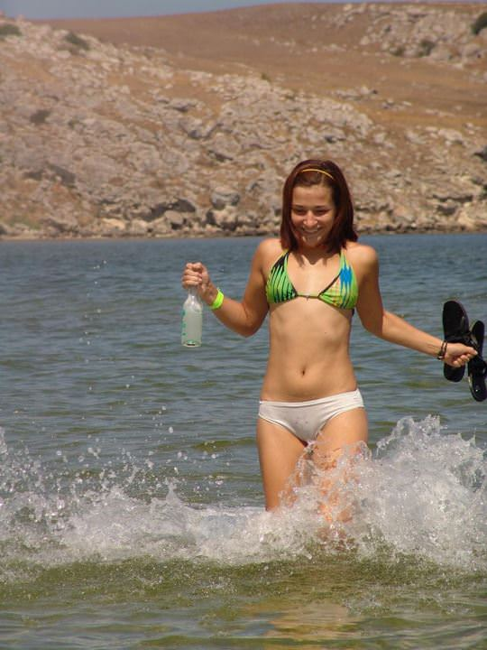 【外人】豊満な体に溺れたい海外美女のビキニポルノ画像 1164