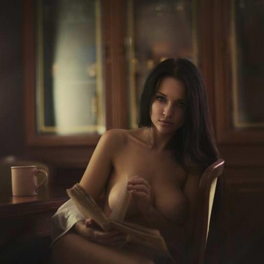 【外人】無名でもクッソ可愛いモデルがヌード晒してるポルノ画像 1292