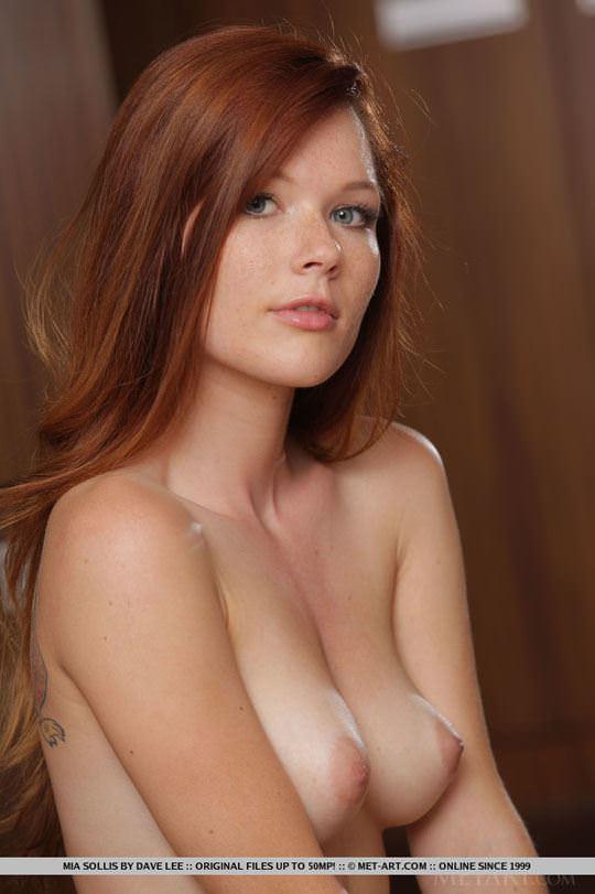 【外人】チェコ共和国出身の赤毛美少女ミア(Mia Sollis)のおっぱいとまんこのポルノ画像 1317